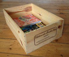 Wine Box Upcycle Ideas