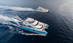 60 Sunreef Power Ocean`s 11 and 70 Sunreef Power 1 Life in Cannes 2014
