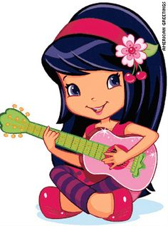Strawberry Shortcake Girl image: I think this is one of those characters. Great for decals, embroidery pattern, picture image, etc.