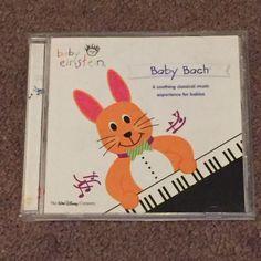 Baby Einstein: Baby Bach (CD, Music, Children's, Classical, Instrumental, 2002)  #InstrumentalClassical