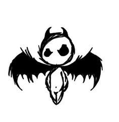 Modèle de tatouage d'un petit personnage diabolique.