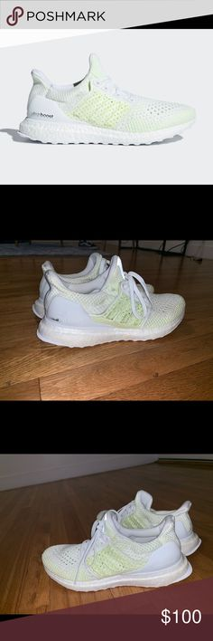 596ddbc00 Adidas Ultra Boost Yeezy YELLOW Yeezy adidas Ultra boost Original cost  210  Size 6 Very lightly worn adidas Shoes Sneakers