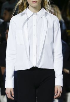 Courréges AW16 @sqchoi / White shirt