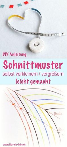 Enlarge / reduce the pattern itself - made easy - Schnittmuster - Easy Sewing Easy Sewing Projects, Sewing Projects For Beginners, Sewing Hacks, Sewing Tutorials, Sewing Tips, Techniques Couture, Sewing Techniques, Sewing Patterns Free, Free Sewing