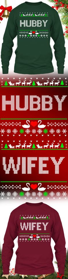Hubby Christmas Sweater - Get this limited edition ugly Christmas Sweater just in time for the holidays! Buy 2 or more, save on shipping!