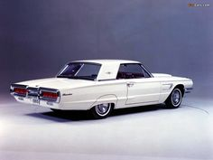 65 Thunderbird. My grandparents had one and drove to California to visit us in 1966.