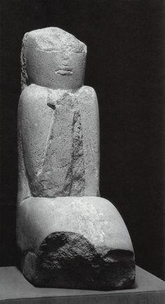 Constantin Brancusi,Ancient Figure (Wisdom), 1906-08