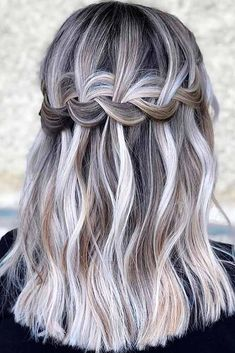 Braided Crown Hairstyle #ashhair #braidedhair ★  Discover trendy easy summer hairstyles 2019 here. We have pretty ideas for long, short, and for medium hair. #glaminati #lifestyle #summerhairstyles