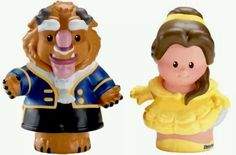 Fisher Price Little People Disney Princess Belle Beauty & the Beast New