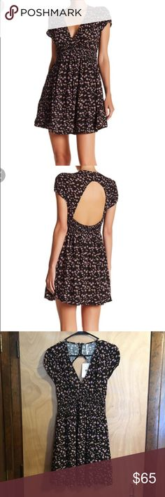 Free People Dress NWT Pretty Free People Printed Mini Dress  Make an Offer! Free People Dresses Mini