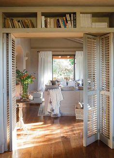 mueble puerta plegable