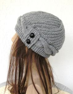 love this knitted hat...