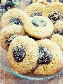 ciastka z kaszy manny Brownie Recipes, Cookie Recipes, Sweet Recipes, Healthy Recipes, Tasty Bites, Polish Recipes, Food To Make, Bakery, Easy Meals