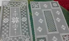 Canario, Rugs, How To Make, Farmhouse Rugs, Mesh, Hardanger, Stitching, Lace, Carpets