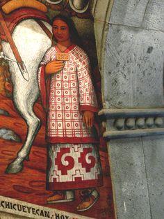 detail | artist -? | may be Alfredo Ramos Martinez (Mexican; 1871~1946)