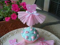 Μπαλαρίνα Cupcake Toppers από JeanKnee στο Etsy