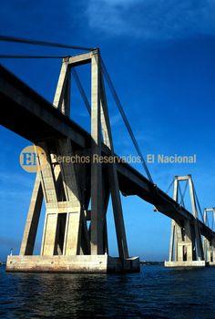 Puente General Rafael Urdaneta, sobre el Lago de Maracaibo, estado Zulia (ARCHIVO EL NACIONAL)