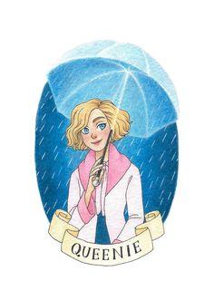 Queenie Goldstein by novahowe.deviantart.com on @DeviantArt