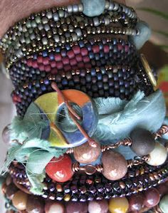 Wrapped, Stacked & Layered Bracelets