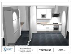 Últimos diseños de los muebles de cocina del Nuevo Tres Cantos!! Esperamos que os gusten!! Visítanos en : www.exclusivasjoma.es