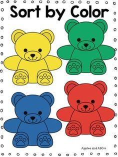 Bear Counter Kindergarten Math Unit Learning Numbers Preschool, Kindergarten Math, Math Counters, Counting Bears, Clip Art Library, Classroom Management Tips, Teddy Bear Pictures, Teacher Supplies, Templates Printable Free