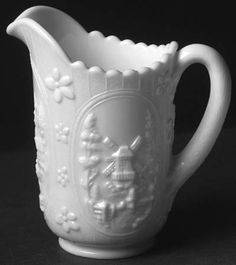 Imperial Glass-OhioWindmill-Milkglass at Replacements, Ltd
