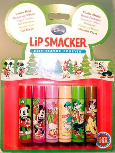 Lip Smacker Disney Mickey Mouse Fun With Friends 6 Pc Balm Set Christmas - Lip Gloss