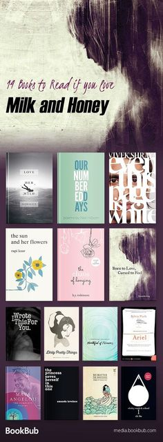 Inspirational, beautiful books like Milk and Honey. Featuring poetry books for teens and for adults.