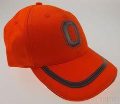 OSU Ohio State University Buckeyes Hunting Cap Fluorescent Orange Outdoor Sports