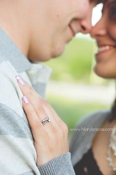 Engagement Photography that shows the ring (since everyone wants to see it!)