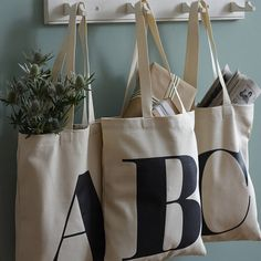 Tote bags de Not on the High Street