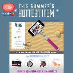 This Summer's Hottest Gift!  For more info http://ift.tt/1TqGfPk Or text PROMOSWORK to 95577  Perfect for: #Summertime #selfie #summerfun #festivals #sports #events #concerts #hiking #biking #pool #beaches #resorts #vacation #lake #boating #boating #sailing #water #travel #promoswork #promotionalproducts #promotionalproducts #gifts #logo #brands
