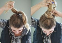 5 nice simple and stylish bun hairs