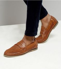 Tan Woven Loafers | New Look