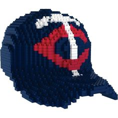 Minnesota Twins MLB 3D BRXLZ Construction Puzzle Set Baseball Cap - *PREORDER Ships in March*