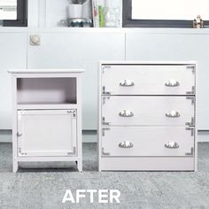 Upcyle Hand-Me-Down Furniture Into a Matching Bedroom Set #DIY #bedroom #furniture #simple #upcycle