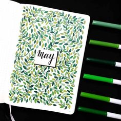 Find inspiration for your Spring Bullet Journal setups with these theme ideas. Bullet Journal Cover Ideas, Bullet Journal Lettering Ideas, Bullet Journal Notebook, Bullet Journal School, Bullet Journal Layout, Bullet Journal Inspiration, Book Journal, Daily Bullet Journal, Journal Ideas