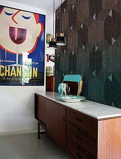 Boiserie Wallpaper by Wall & Decò - Via Designresource.co