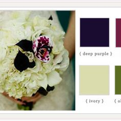 Possible fall wedding colors