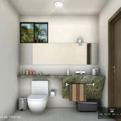 BAÑO DE VISITAS: Baños de estilo Moderno por ANGOLO-grado arquitectónico