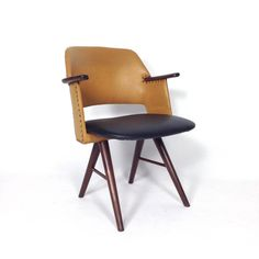 Set of Four FE30 Dining Chairs by Cees Braakman for Pastoe, Netherlands, 1950s image 8
