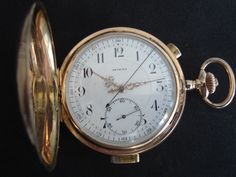 Invicta quarter hour Repeater circa1895