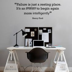 Henry Ford wall sticker decal for home and office interior design