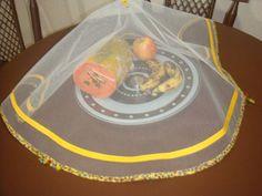 cobre alimento com aplicação em vies em filô ou tunil 47 cm diametro