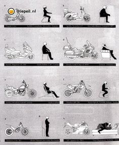 What is your riding position? Haha... I knew there was a reason I ride street.