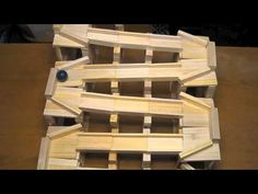 ▶ Keva Contraptions marble run - YouTube