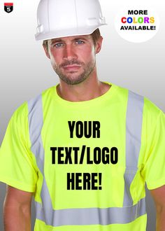 Personalized Safety T-shirt custom new business shirt working gear Unisex sizes by on Etsy Working Gear, Business Shirts, Custom Shirts, Safety, Unisex, Logos, Clothing, T Shirt, Etsy