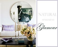 natural apartment glamour