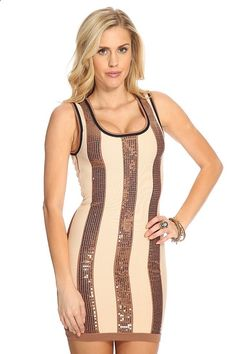 Clothes for Romantic Night - Clothes for Romantic Night - When the night falls, your date will fall for the girl in this gorgeous dress! This evening will enchant you with a romantic dinner and starlit dancing in this beautiful dress. Featuring scoop neckline, sleeveless, stripe print, sequin decor, fitted, and above the knee length. 80%Rayon 20%Spandex - If you are planning an unforgettable night with your lover, you can not stop reading this! - If you are planning an unforgettable ni...