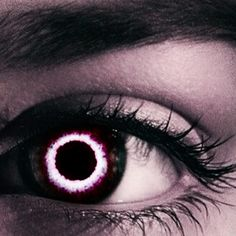 the mark of the player/slayer. the implant in their eye gives them a way to scan landscapes/upload data and build their own personal monster database/mark targets as well as start duels/games and keep score. Pretty Eyes, Cool Eyes, Beautiful Eyes, Dark Fantasy, Cover Wattpad, Demon Eyes, Aesthetic Eyes, Crazy Eyes, Magic Eyes